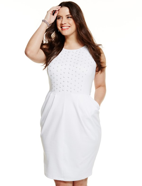 Plus size white dresses for Women - the Maxi Dresses